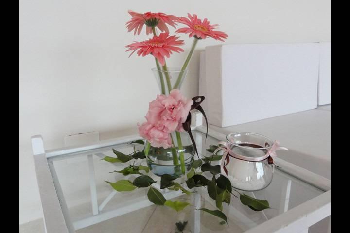 Chá de Bebê - Marrom & Rosa 2