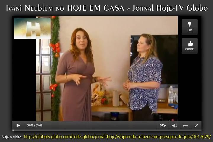 Veja o vídeo: http://globotv.globo.com/rede-globo/jornal-hoje/v/aprenda-a-fazer-um-presepio-de-juta/3017679/