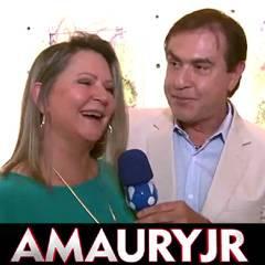 Ivani Neublum com AMAURY JR no PASCOARTE